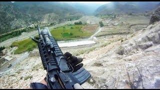 U.S. Soldier Survives Taliban Machine Gun Fire During Firefight