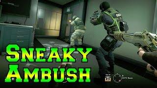 Sneaky Caveira Ambushes - Rainbow Six Siege
