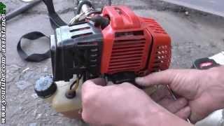 Ремонт стартера мотокосы, триммера - Video website