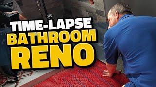 Bathroom Renovation Time Lapse