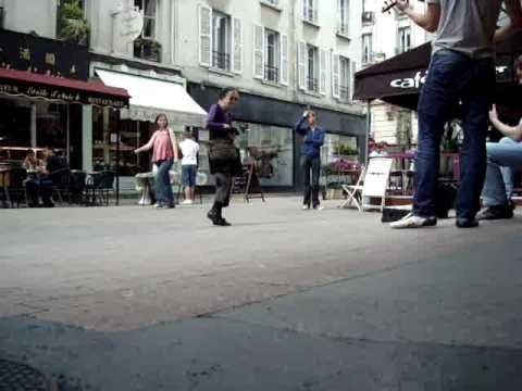 Rue Daguerre Buskers