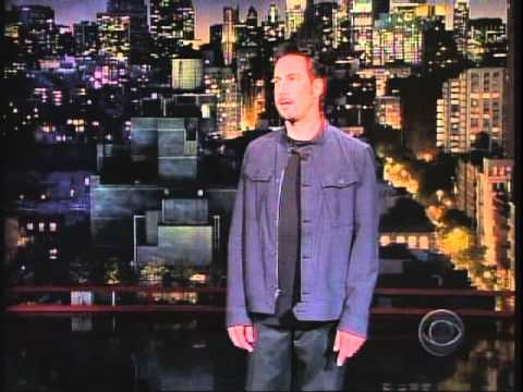 Joe Matarese on The Late Show with David Letterman