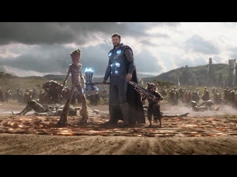 Thor arrives in wakanda! | Avengers: Infinity War