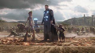 Thor arrives in wakanda! | Avengers: Infinity War
