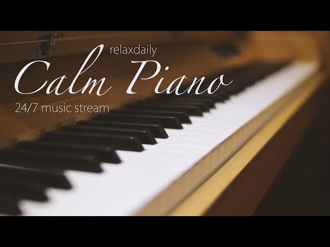 Video Calm Piano Music 24/7: study music, focus, think, meditation, relaxing music download in MP3, 3GP, MP4, WEBM, AVI, FLV January 2017
