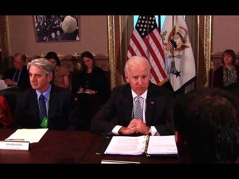 Researcher: Joe Biden Advises Video Game Industry to Take Positive Steps