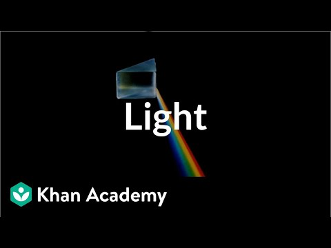 Introduction To Light Video Khan Academy