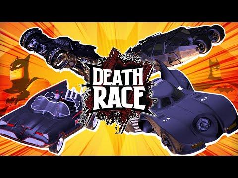 Batmobile BATTLE! (Batman & Robin VS Dark Knight) | DEATH RACE!