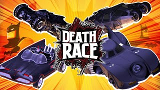 Batmobile BATTLE! Batman & Robin VS Dark Knight | DEATH RACE by ScrewAttack