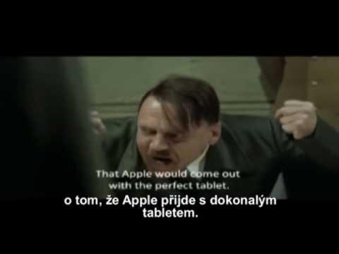 Hitler se dozvěděl, že iPad nepodporuje multitasking