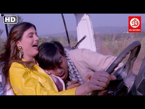 Itihaas Love & Comedy Scenes - Ajay Devgan,Twinkle Khanna & Amrish puri | Superhit Action Movie