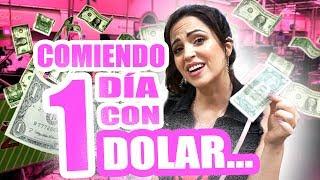Video Comiendo 1 Día con SOLO 1 Dolar en USA! Reto SandraCiresArt MP3, 3GP, MP4, WEBM, AVI, FLV Juli 2018