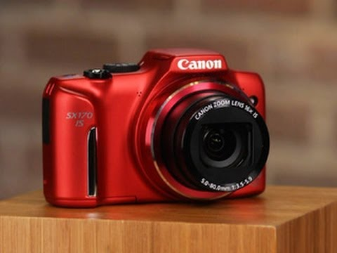 Canon PowerShot SX170 IS drops the alkaline
