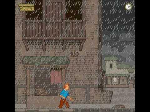 Tintin au Tibet Super Nintendo