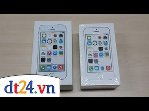 Cách nhận biết Iphone5s chính hãng...Hãy cùng xem với dt24.vn