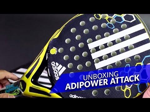 Unboxing Pala Adidas AdiPower Attack 2016