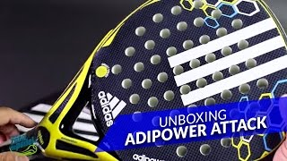 video Unboxing Pala Adidas AdiPower Attack 2016