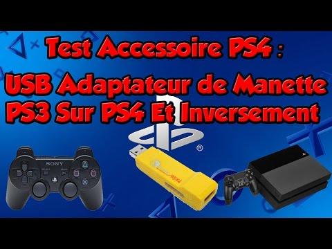 Test Accessoire PS4: Adaptateur USB de Manette PS3 Sur PS4 Et Inversement