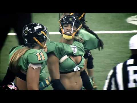 LFL Lingerie Football League - Hits & Bloopers