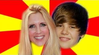 Justin Bieber Vs. Ann Coulter