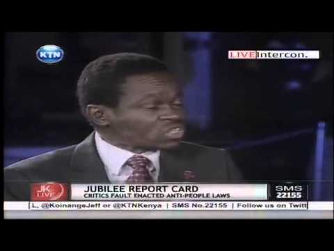 PLO - Jeff Koinange live with PLO Lumumba and Farah Maalim (Jubilee report card) Watch KTN Streaming LIVE from Kenya 24/7 on http://www.ktnkenya.tv Follow us on ht...
