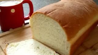 Video How To Make A Super Soft Milk Bread Loaf MP3, 3GP, MP4, WEBM, AVI, FLV Mei 2019