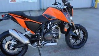 10. $8,999:  2016  / 2017 KTM 690 Duke Orange Overview and Review