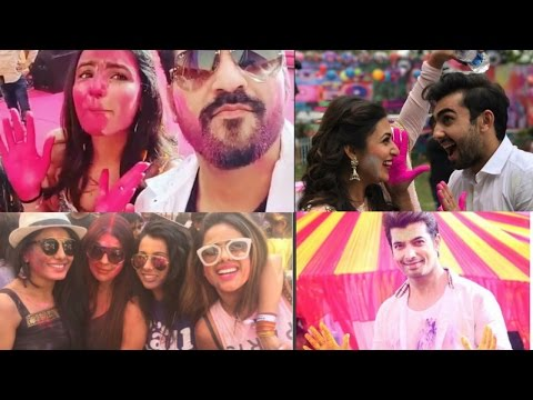TV Celebs Celebrates COLOURFUL Holi