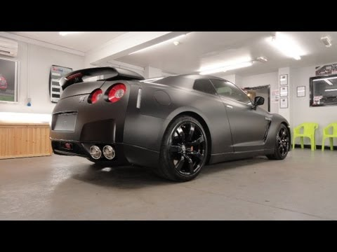 nissan gtr vinyl wrap removal and replacement by pw pro