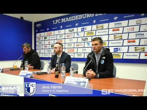 Video: Pressekonferenz - 1. FC Magdeburg gegen SV Stuttgarter Kickers 2:1 (2:0)
