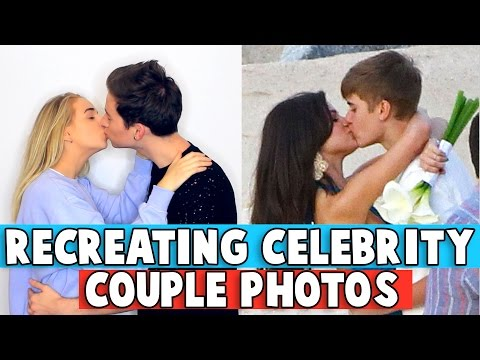 RECREATING CELEBRITY COUPLE PHOTOS w/ Jennxpenn