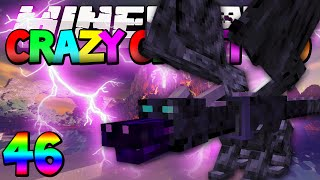 """Minecraft Mods Crazy Craft 2.0 """"How to Cage your Dragon!"""" Modded Survival #46 w/Vikkstar & Lachlan"""