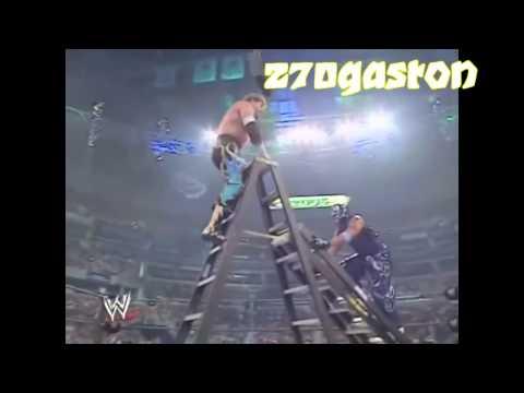 Eddie vs Rey misterio Ladder match Highlights