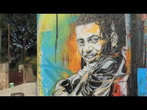 VIDEO: C215 Stencil Haiti, April 2013