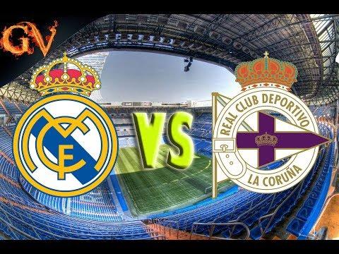Real Madrid x Deportivo La Coruña La Liga 21/01/2018 PES 2018 PSP