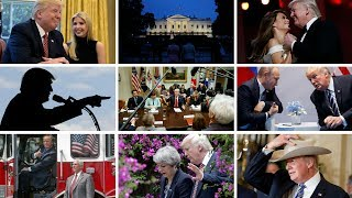 """It's six months since Donald Trump came into office, promising to transfer power """"back to the people"""". Here are his highlights... . Report by Charlotte Brehaut and Nikhita Chulani."""
