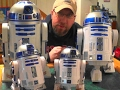 Star Wars R2d2 Collection And Comparison