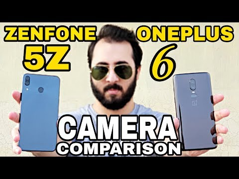 Asus Zenfone 5Z Vs Oneplus 6 Camera Comparison | Asus Zenfone 5Z Camera Review
