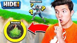 CHEATING in Fortnite PLAYGROUND MODE! *NEW* HIDE & SEEK Custom Gamemode!