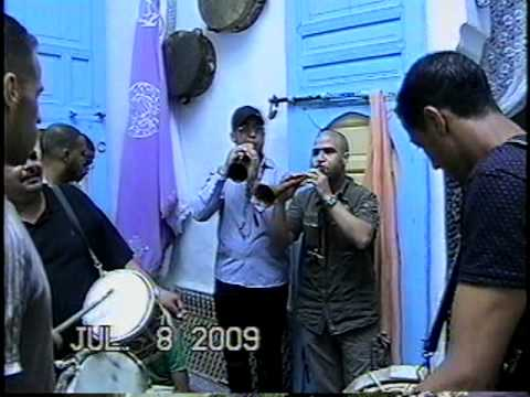 Issawa sous la direction du moqaddem Abdelilah Doukkali de Salé