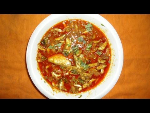 How to Cook Small Fish Curry Village style in Andhra Pradesh