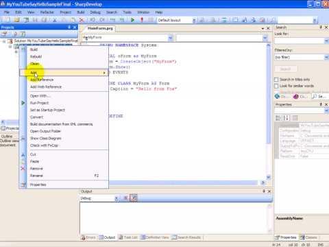 VFP Developer Studio For .Net Preview