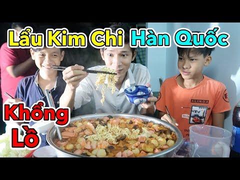 Lâm Vlog - Cuối Tuần Làm Thau Lẩu Kim Chi Hàn Quốc Khổng Lồ Cho 10 Người Ăn - Thời lượng: 11:02.