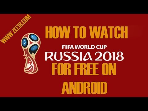 FIFA World Cup 2018 Russia Watch Live  On Your Android Devices !(link Is Given In Description)