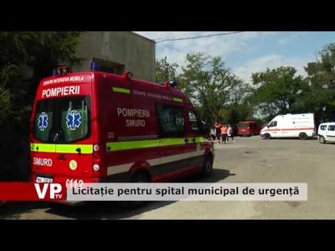 Licitație pentru spital municipal  de urgență