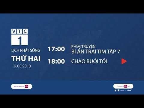 Lịch phát sóng VTC1 ngày 21/03/2018 | VTC1 - Thời lượng: 103 giây.