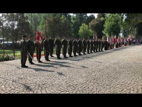 Wideo1: 80 rocznica wybuchu II wojny światowej - salwa honorowa
