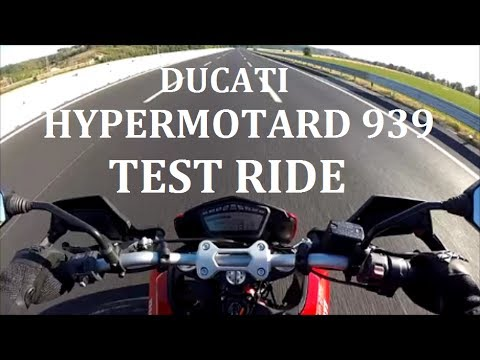 Ducati Hypermotard 939 Test Ride Completo