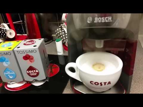 Our New Tassimo Coffee Machine - Making Coffee - Tingles !?!