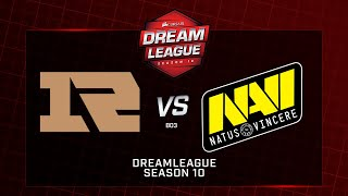 Royal Never Give Up vs  Na'Vi, DreamLeague Minor, bo3, game 2 [Adekvat & Lex]